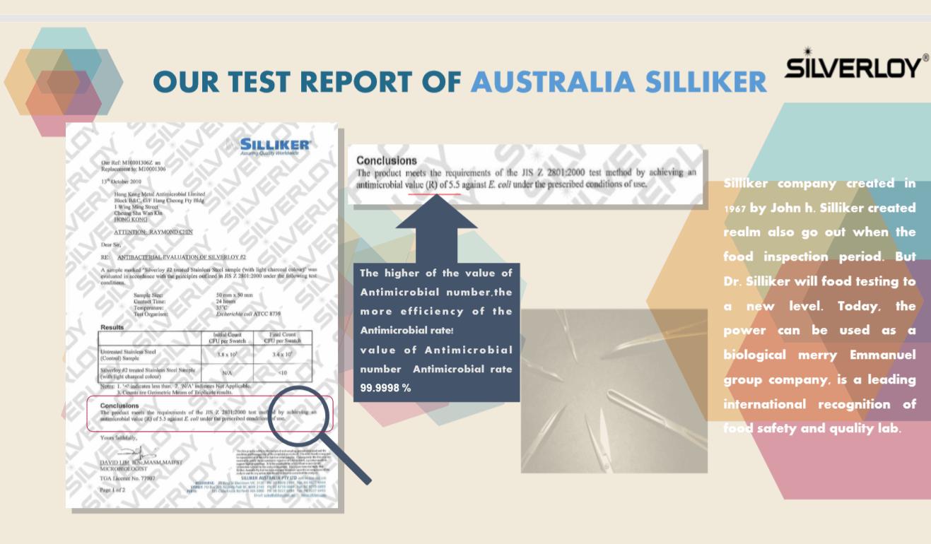 Australia Silliker report